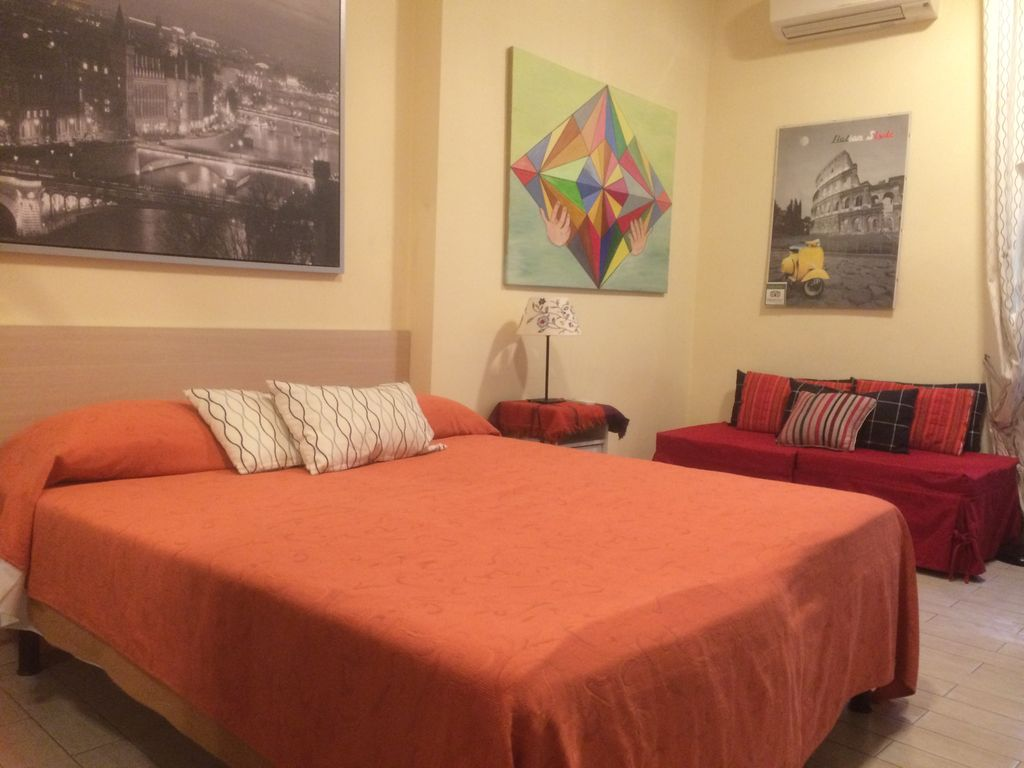 Cheap accommodation San Paolo, 40 square meters, recommended by travellers !