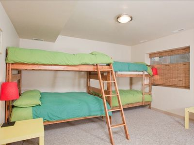 Jackson Hole house rental - The Ultimate Bunk Room!