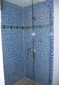 One of the showers in a Master Suite for bedroom # 2