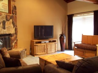 Park City townhome photo - Great Room w New 42' Plasma Flat Screen TV