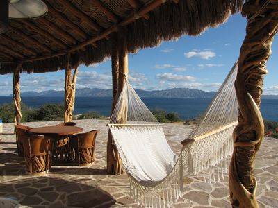 Enjoy your morning coffee on the terrace or lounge in a hammock.