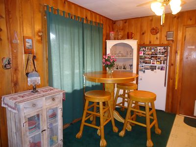 Ruidoso cabin rental - Dining Area