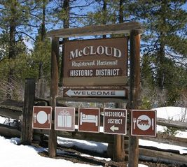 McCloud chateau / country house photo - Historic McCloud - Shopping and Dining - 8 Minutes Away!