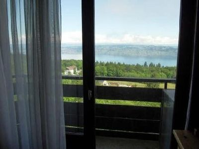 At the heart of the resort, views of Lake Leman and Switzerland