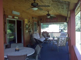 Claytor Lake cabin photo - Turn on the fans and get a cool beverage!