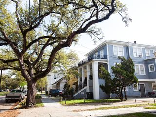New Orleans apartment photo - The St. Charles Streetcar runs right in front of the building on Carrollton.