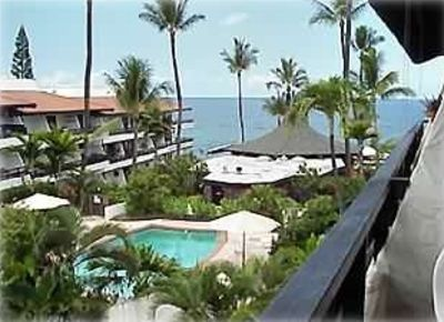 Outside View from the Condo Lanai-A Romantic Hideway where your cares slip away!