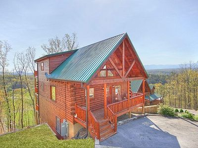 Pigeon Forge cabin rental - BEAUTIFUL MOUNTAIN CABIN WITH AMAZING VIEWS