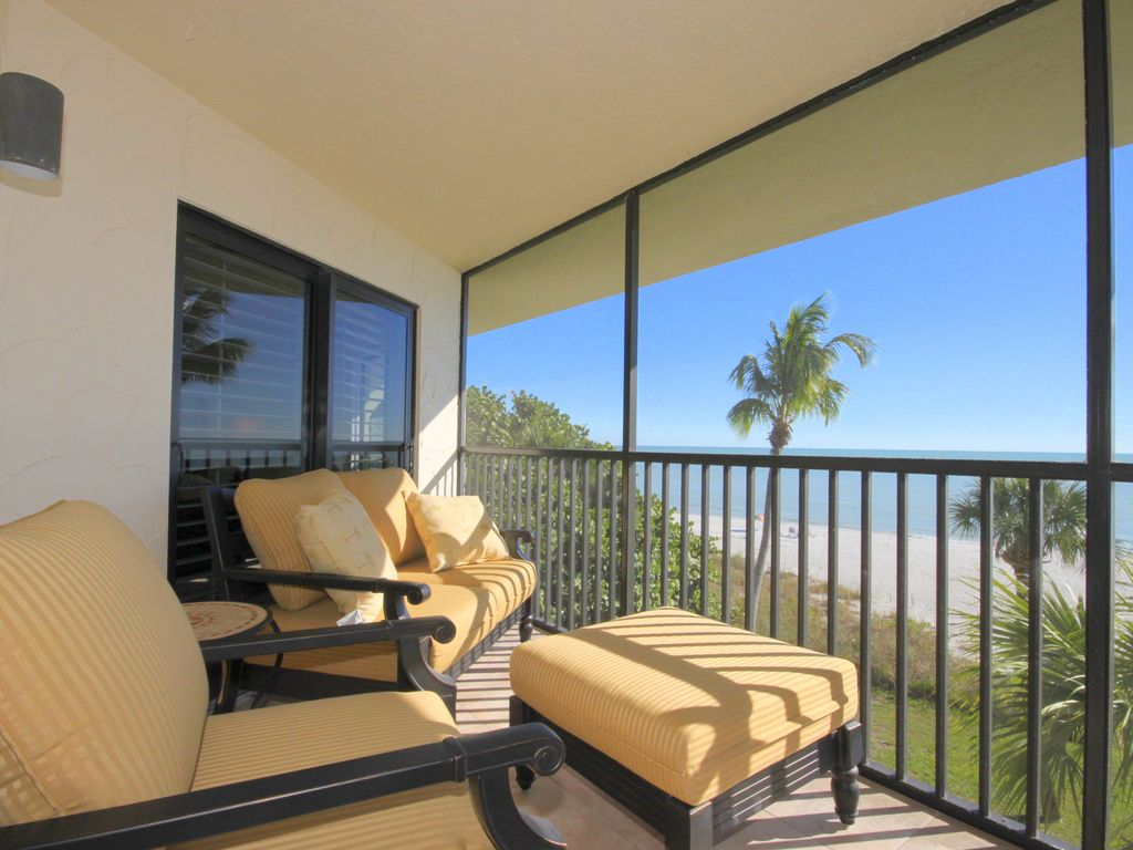 Sanibel Island Condo Rental 3 Br Direct Gulf Front Available Weeks Of 10 4 10 11 11 15