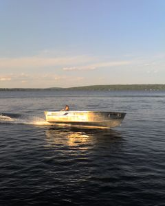 Green Lake cabin rental - 16' fishing boat