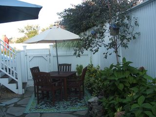 Provincetown condo photo - Lovely fenced in Exclusive Outdoor Living Area