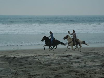 Ride on 3.5 miles of Secluded Beach
