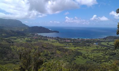 Okolehau Trail. 4 mile hike on Hanalei Ridge