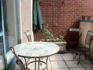 Vancouver condo photo - Private sun-drenched garden patio with BBQ