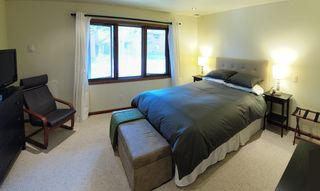 Mammoth Lakes townhome photo - Master Bedroom