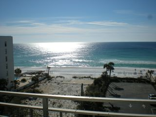 Okaloosa Island condo photo - Sparkling gulf view from the balcony!