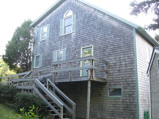 Southwest Harbor house photo - side view