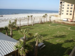 Orange Beach condo photo - Picnic Area with Putting Green
