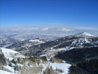 Deer Valley Ski View