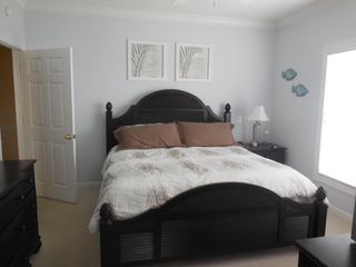 Ocean Isle Beach condo photo - Master Bedroom with Flat Screen and DVD Player