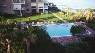 Vero Beach condo photo - Photo of Pool with Ocean in background