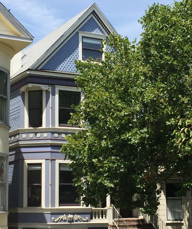 Large Victorian In Cole Valley