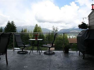 Shuswap Lake townhome photo - large deck to enjoy the views and BBQ