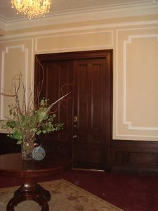Parlor entrance to Unit B