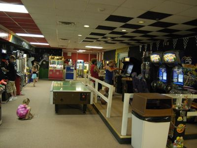 Take a break from the beach and check out the Game Room