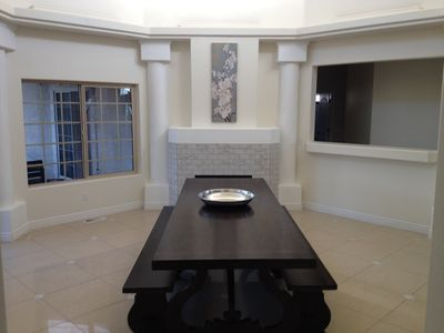 Dining Room w/Vaulted Ceiling