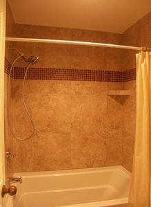Guest bath, all new