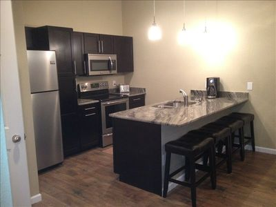 Completely refurbished, granite,  cabinets, appliances, hardware & accessories