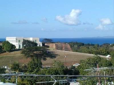 Vieques Island house rental - Rooftop view of the Fort and the Atlantic