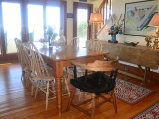 Kennebunk Beach house photo - Dining Room over looking ocean
