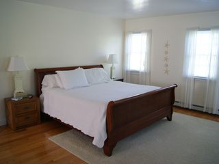 Brewster house photo - Master bedroom is very big. Two additional twins not seen in photo.