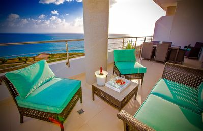 Spared by Hurricane-Breathtaking sunsets from this Luxury Beachview condo