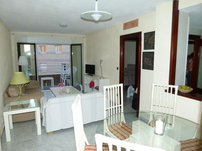 Apartment Malagueta between beach & harbor, a few min. Walk to the center