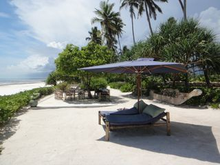 Zanzibar North villa photo - Part of our private beach and luch aréa !