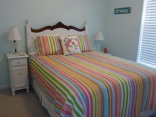 St. Augustine Beach condo photo - Bedroom #3 with queen size bed