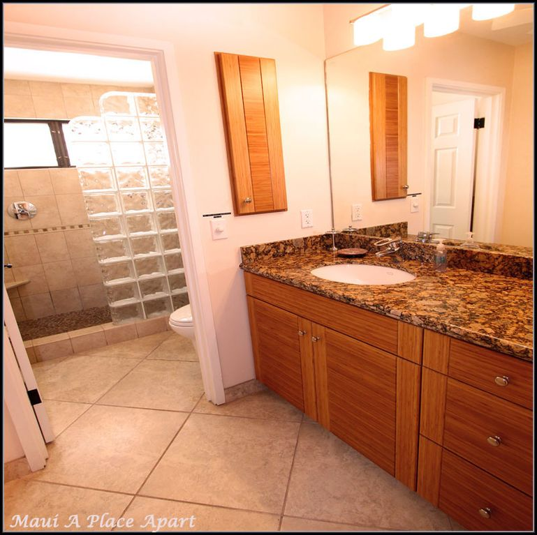Vanity from unit 13C Ekahi Village, One Bed-Two Bath, Ocean view