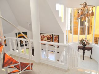 Cabarete villa photo - Villa Leone 2nd Floor Landing and Stairway