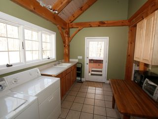 Tannersville house photo - 1st Floor Laundry Room with space to fold and store.