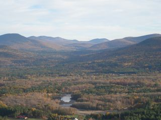 North Conway condo photo - Fall view from top of nearby Cathedral Ledge State Park