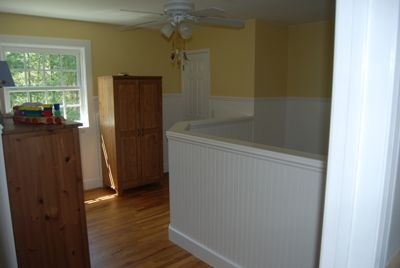 East Hampton house rental - second floor bedroom 2 - set up for our sp. needs child will be adjusted for you