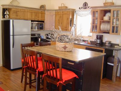 Asheville house rental - New Creekside fully equipped kitchen