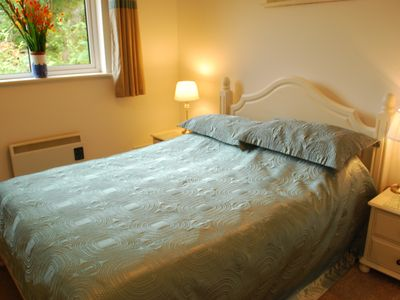 Golant cottage rental - Bedroom Old Sawmills