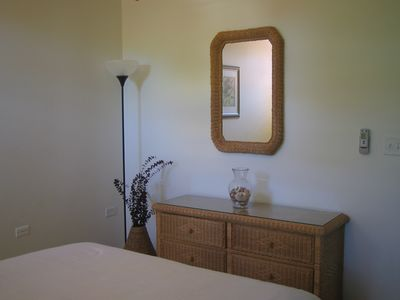 Rincon villa rental - View of the Dressing Table in the Second Bedroom.