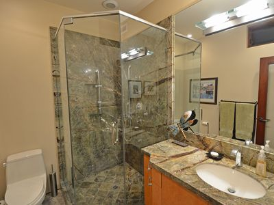 Rain Forest Master Bathroom with Full Body Shower