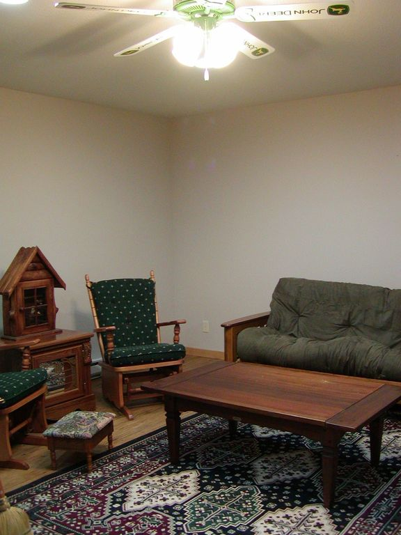guest cabin living area