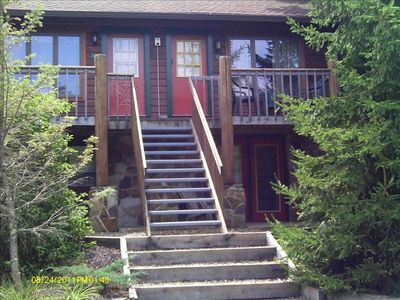 Snowshoe Mountain condo rental - We are the second bottom unit in the second building